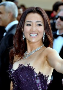 Gong Li. Her IMDB bio lists 30 credits. among them are classics of fifth generation cinema such as Raise the Red Lantern and Red Sorgum.